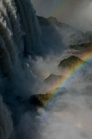 Thundering waters, intense rainbows.© 2013 Bob Harvey