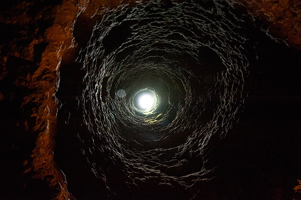 Underground City ventilation shaft© 2013 Bob Harvey