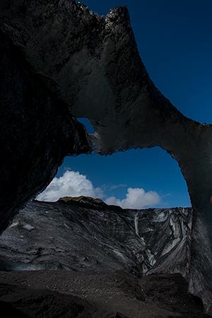 Arch of ice©2013 Bob Harvey