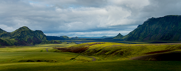 Valleys shaped by the volcano Katla©Bob Harvey, 2013
