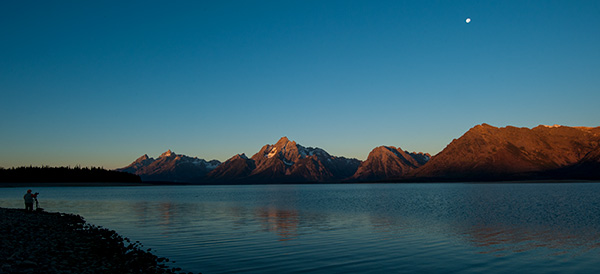 Sunrise at Colter Bay© 2013 Bob Harvey