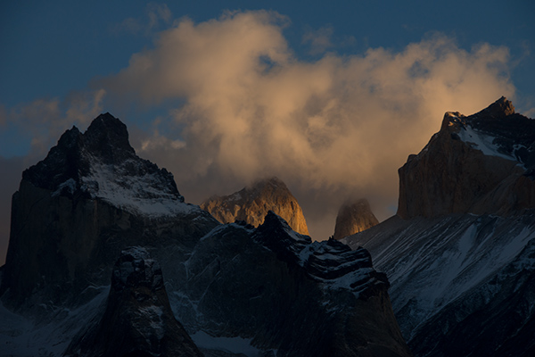 Sunrise, Torres del Paine National Park, Chile © 2014 Diane Kelsay