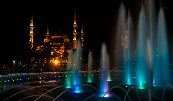 Blue Mosque © 2014 Diane Kelsay