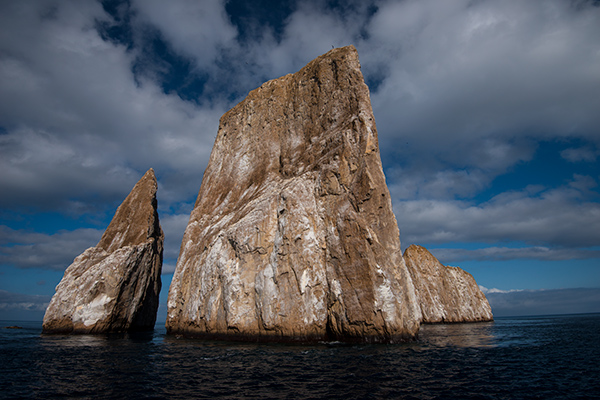 Kicker Rock, above water © 2014 Diane Kelsay
