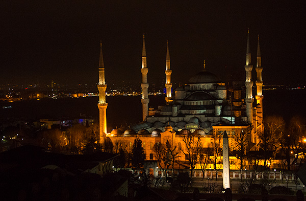 Blue Mosque © 2015 Bob Harvey